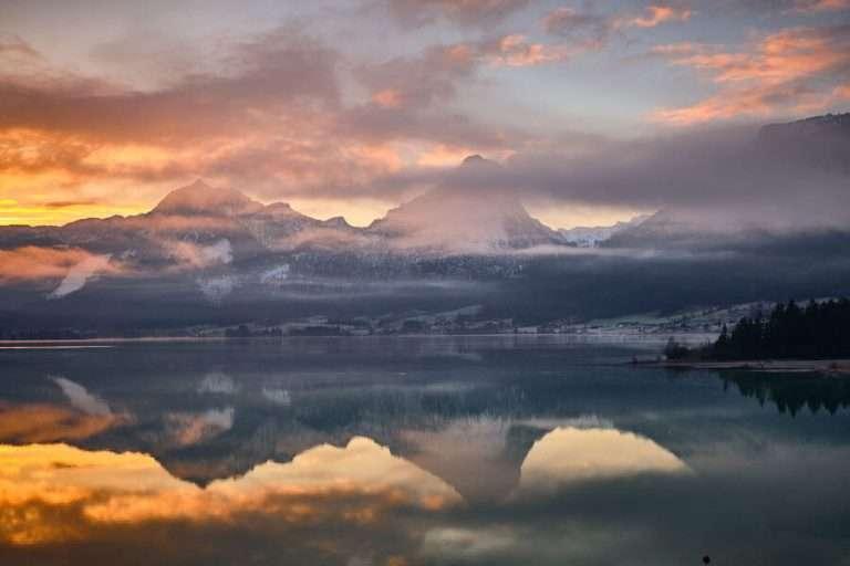 Berge-bei-Sonnenaufgang